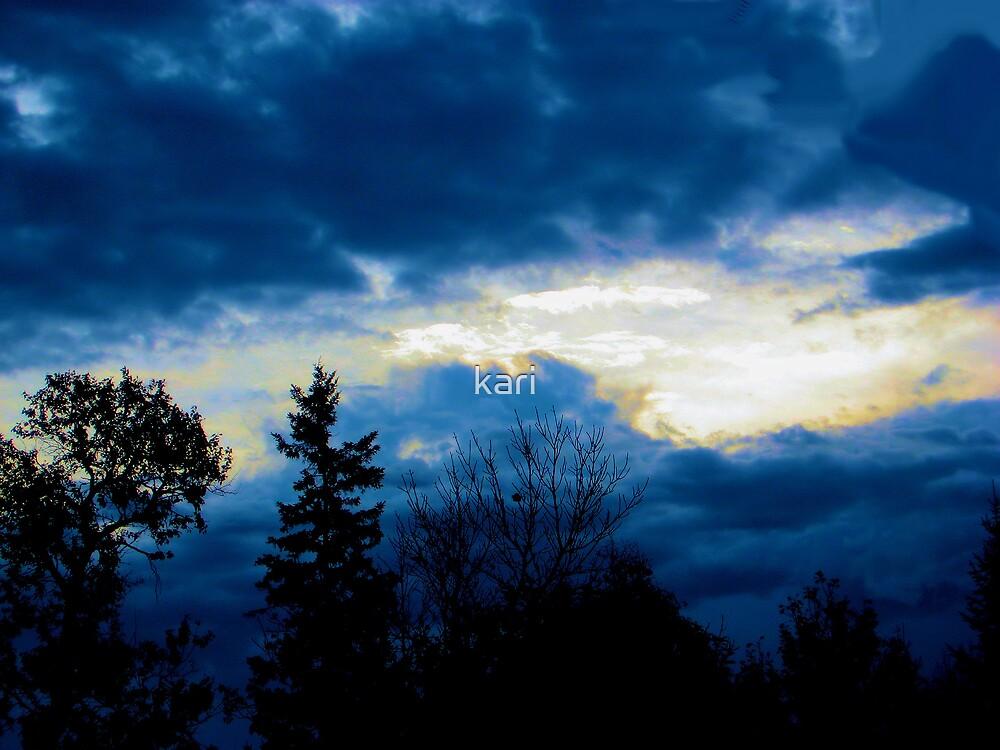 Brilliantly Blue by kari