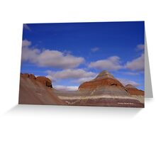 Desert Terrain Greeting Card