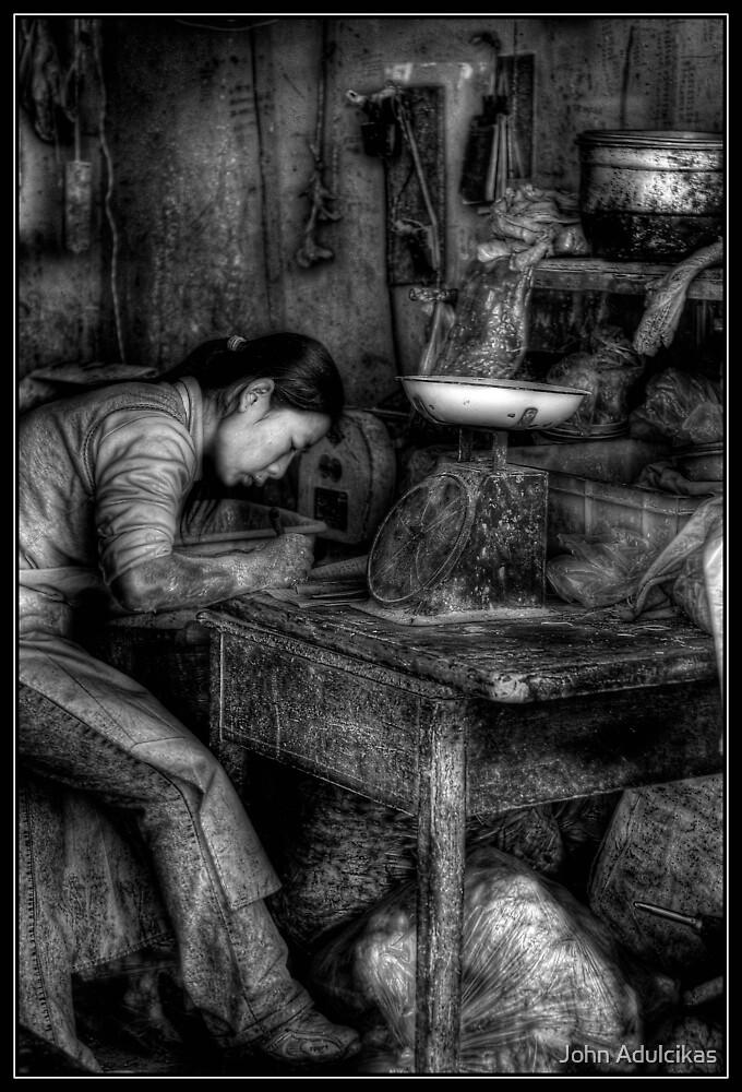 noodle maker by John Adulcikas