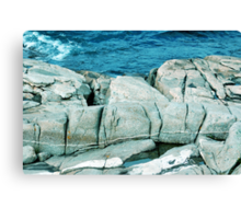 Large Rocks Canvas Print