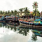 Hoi An Boats by Oliver Winter