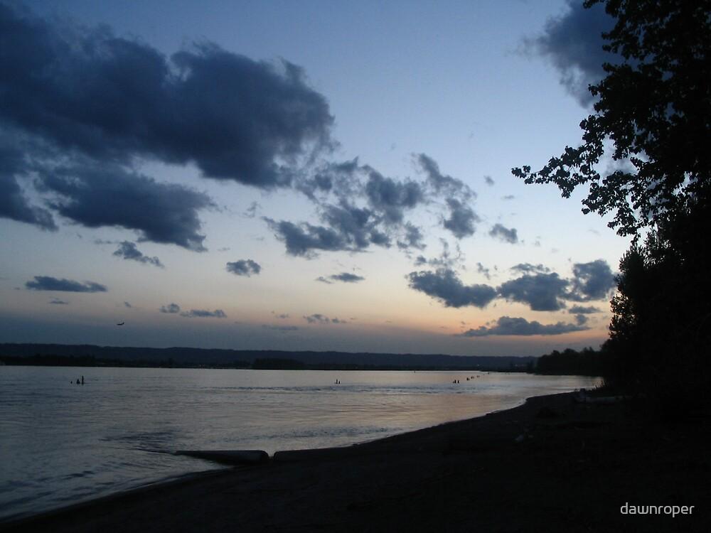 River Sunset by dawnroper