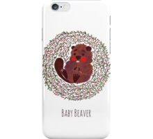 Baby Beaver iPhone Case/Skin