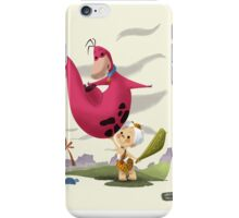 Bambam and Dino iPhone Case/Skin