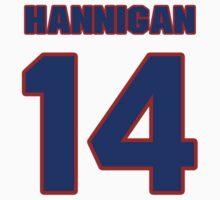 National Hockey player Pat Hannigan jersey 14 by imsport
