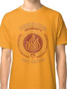 Firebending university Classic T-Shirt