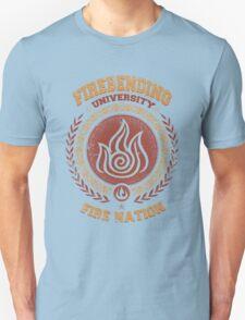 Firebending university Unisex T-Shirt