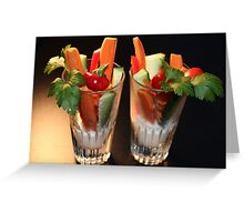 Healthy and Delicious Greeting Card