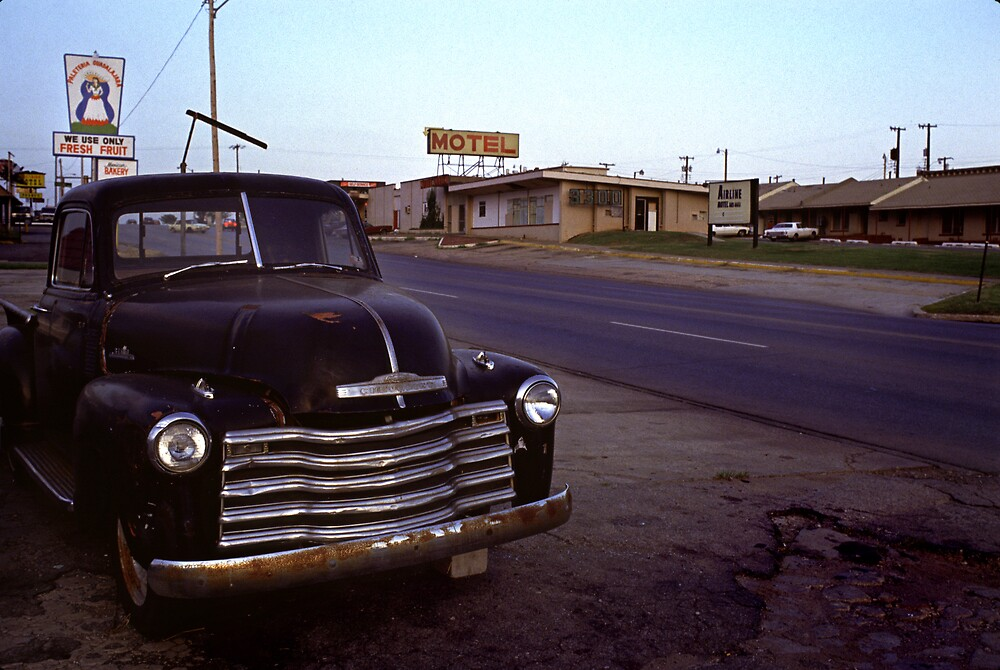 Motel Mid America by laurencedodd
