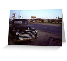 Motel Mid America Greeting Card