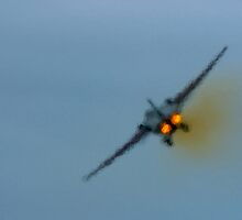 F-111 Exhaust Haze by greencardigan
