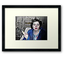 Highly Flammable  Framed Print