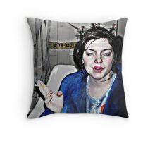 Highly Flammable  Throw Pillow