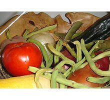 STATE FAIR VEGETABLES Photographic Print