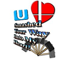 Super Smashed Heart Photographic Print