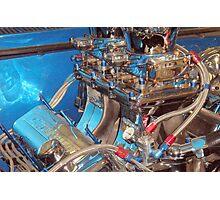 CLASSIC NOVA 60'S ENGINE Photographic Print