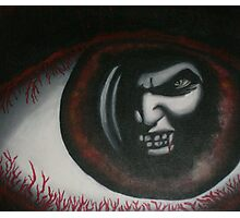 original acrylic vampire painting Photographic Print