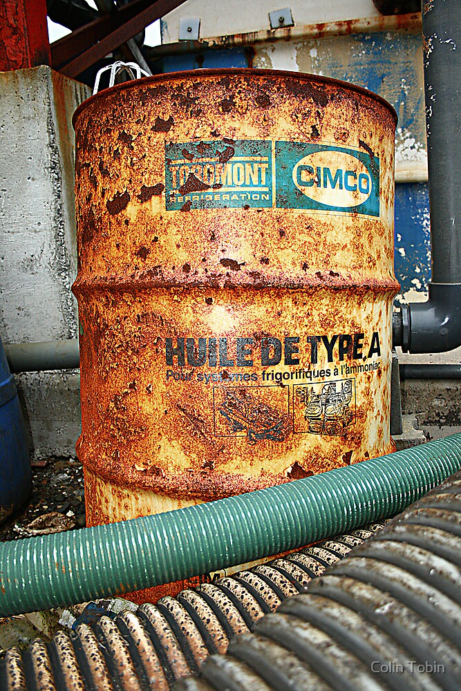 Rusty Barrel by Colin Tobin