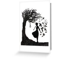 The Hanging Tree - Hunger Games Greeting Card
