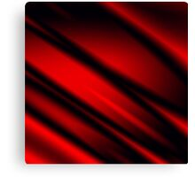 Red Rays Canvas Print