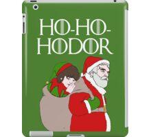 Ho-Ho-Hodor! iPad Case/Skin