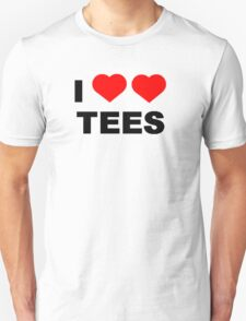 I Heart Heart Tees Tee T-Shirt