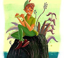 Peter Pan by davidpavon