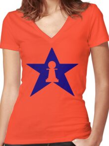 Pawn Star Women's Fitted V-Neck T-Shirt