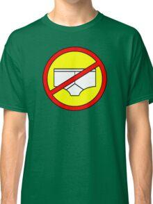 No Knickers T! Classic T-Shirt