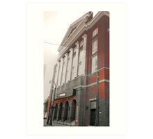 The Tabernacle in Red Art Print