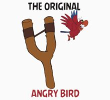 ORIGINAL ANGRY BIRD IAGO (STICKERS)  by sayers