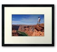Grand Canyon Overlook Framed Print