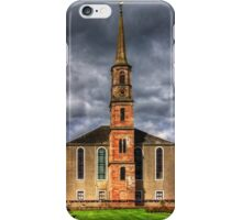 Strathaven East Parish Church iPhone Case/Skin