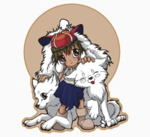Princess Mononoke Kids Clothes