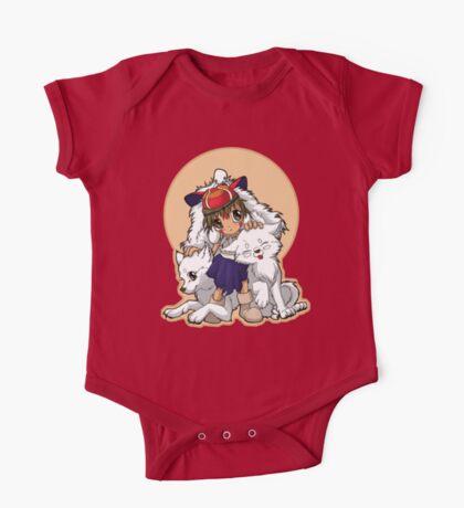 Princess Mononoke One Piece - Short Sleeve