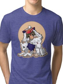 Princess Mononoke Tri-blend T-Shirt