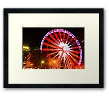 Skyview At Night Framed Print