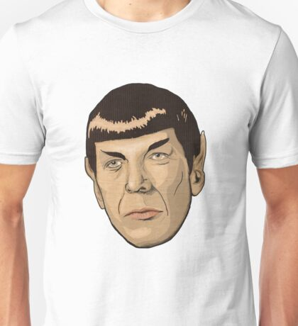 floating Spock head Unisex T-Shirt