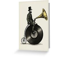 Music Man Greeting Card
