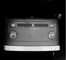 Black and White VW Van by Prettyinpinks