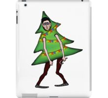 Man in Christmas costume iPad Case/Skin