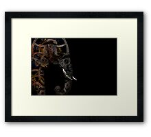 clockwork elephant  Framed Print
