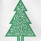 Christmas Tree Icons by Neil K