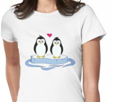 Penguins Womens Fitted T-Shirt