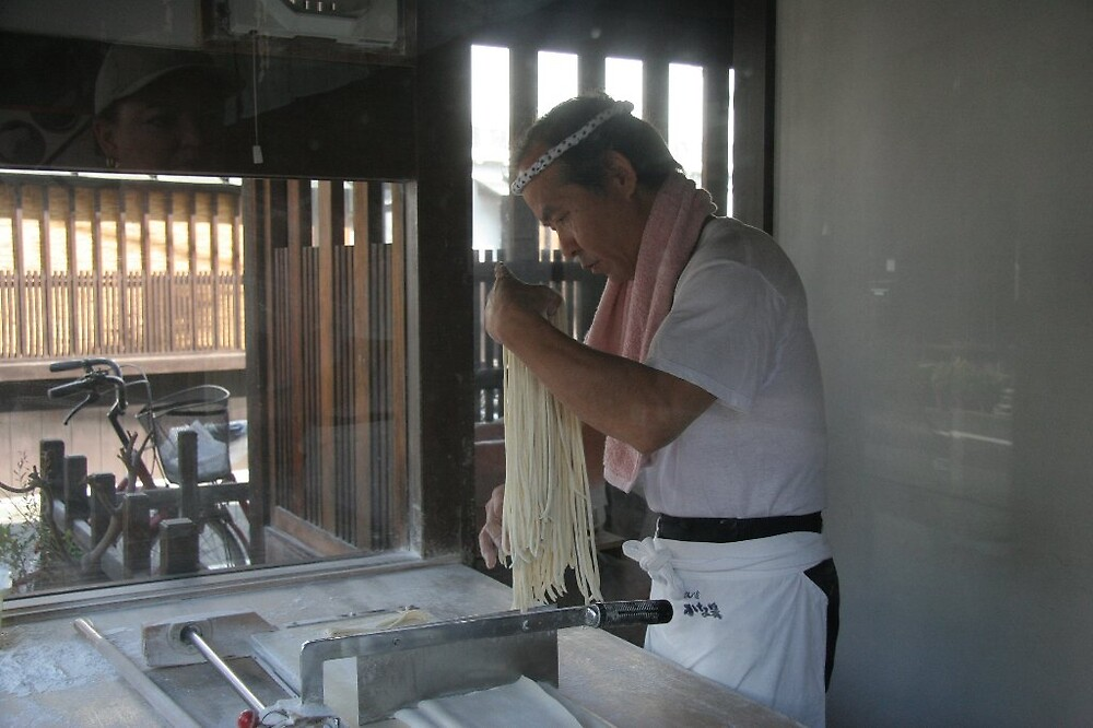 Kurashiki - Udon noodle maker by Trishy