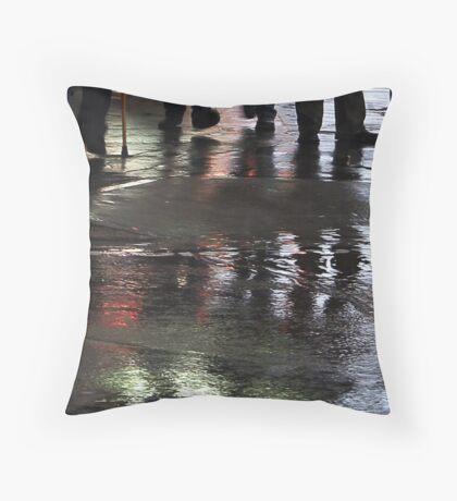 Colour of Rain Throw Pillow