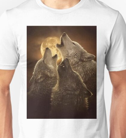 Beautiful  Wolf Unisex T-Shirt