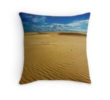 Stockton Beach Throw Pillow