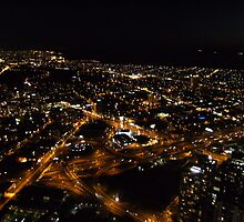 city at night!!! by Robert Halupa