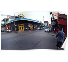 Wide Streets 2 - New Orleans, LA Poster